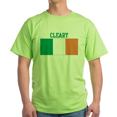 Cleary (ireland flag) Green T-Shirt