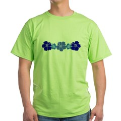 Hibiscus Green T-Shirt
