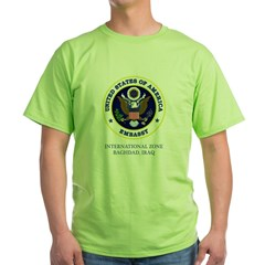 US Embassy - Baghdad Two Sided Green T-Shirt