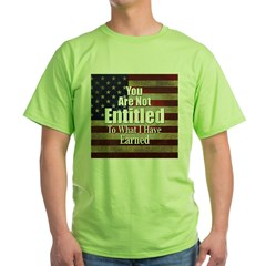 ENTITLED-square.jpg Green T-Shirt