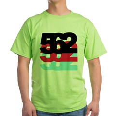 562 Area Code Green T-Shirt