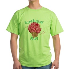 Birthday Girl Green T-Shirt