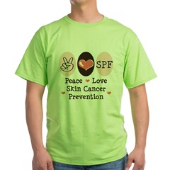 Peace Love SPF Green T-Shirt