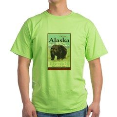 Travel Alaska Green T-Shirt
