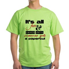 Papercu Green T-Shirt