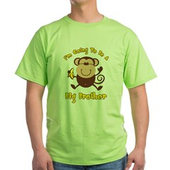 Monkey Future Big Brother Green T-Shirt