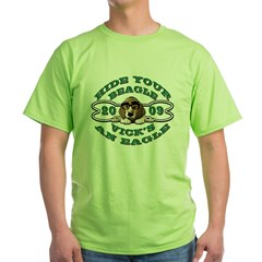 Vick Beagle Eagle Disguised Green T-Shirt