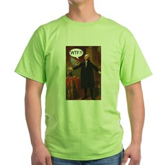 George Washington WTF? Green T-Shirt