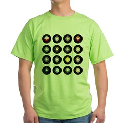 Records Green T-Shirt