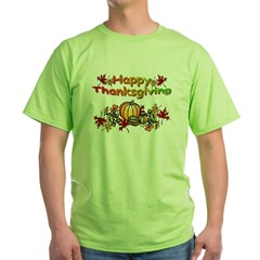 Thanksgiving Green T-Shirt
