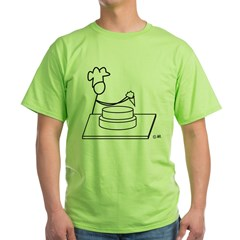 Baker.jpg Green T-Shirt