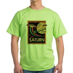 See Saturn Green T-Shirt