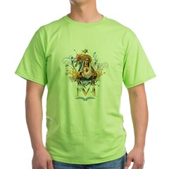 Immaculate Heart of Mary Green T-Shirt