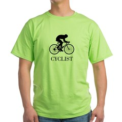 CYCLIST Green T-Shirt