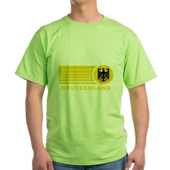 Deutschland Germany Green T-Shirt