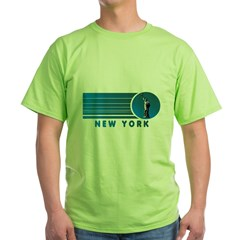 New York Vintage Green T-Shirt