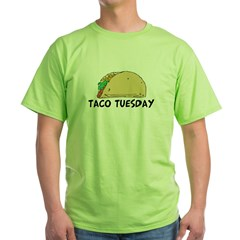 Taco Tuesday Green T-Shirt
