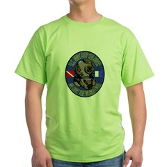 NAVY DIVER Green T-Shirt