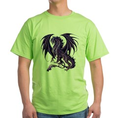 Draconis Nox Dragon Green T-Shirt