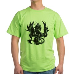 Ruth Thompsons Obsidian Dragon Green T-Shirt