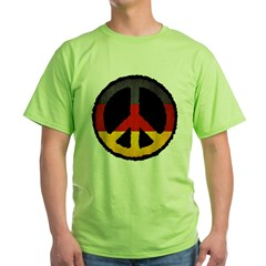 German Peace Green T-Shirt