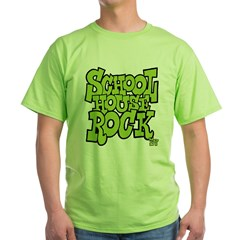 Schoolhouse Rock TV Green T-Shirt