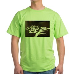 Three Crosses Green T-Shirt