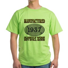 Manufactured 1937 Green T-Shirt