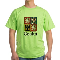 Czech Green T-Shirt
