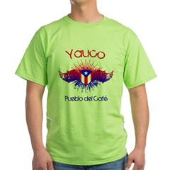 Yauco Green T-Shirt