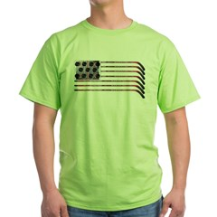 US Hockey Fla Green T-Shirt