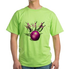 Strike Against Breast Cancer, Green T-Shirt