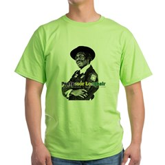 cafepress_clock Green T-Shirt