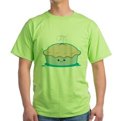 I Like Pi Green T-Shirt