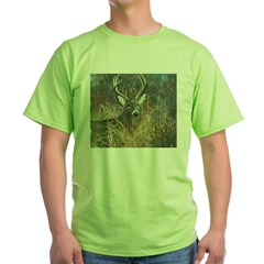 deer1001 Green T-Shirt