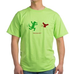 redshirt_bk Green T-Shirt