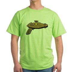 Brown Ray Gun Green T-Shirt