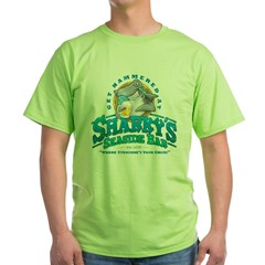 Sharky's Seaside Bar Green T-Shirt