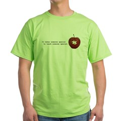 Autism Teacher Green T-Shirt