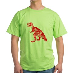 Red Dino Green T-Shirt
