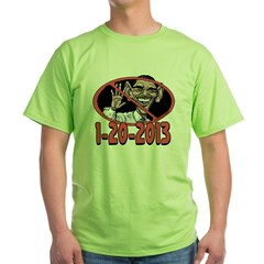 End of Error 2 Sided Green T-Shirt