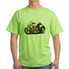 Goldwing Gold Trike Green T-Shirt