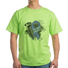 Screw Esophageal Cancer Green T-Shirt