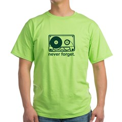 neverforget Green T-Shirt