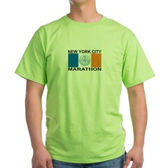 New York City Marathon Green T-Shirt