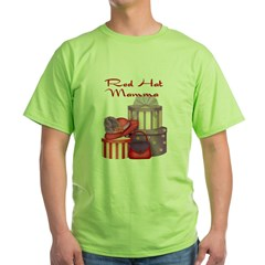 Red Hat Grey Green T-Shirt