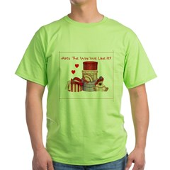 Red Hat Green T-Shirt