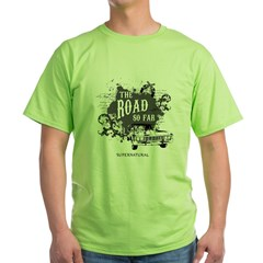 SUPERNATURAL The Road black Green T-Shirt