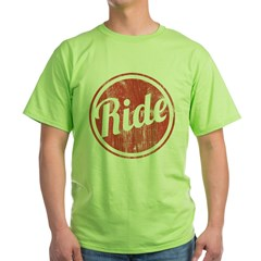 Ride - Green T-Shirt