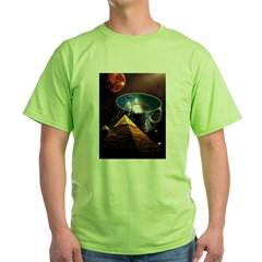 Ancient Aliens Green T-Shirt
